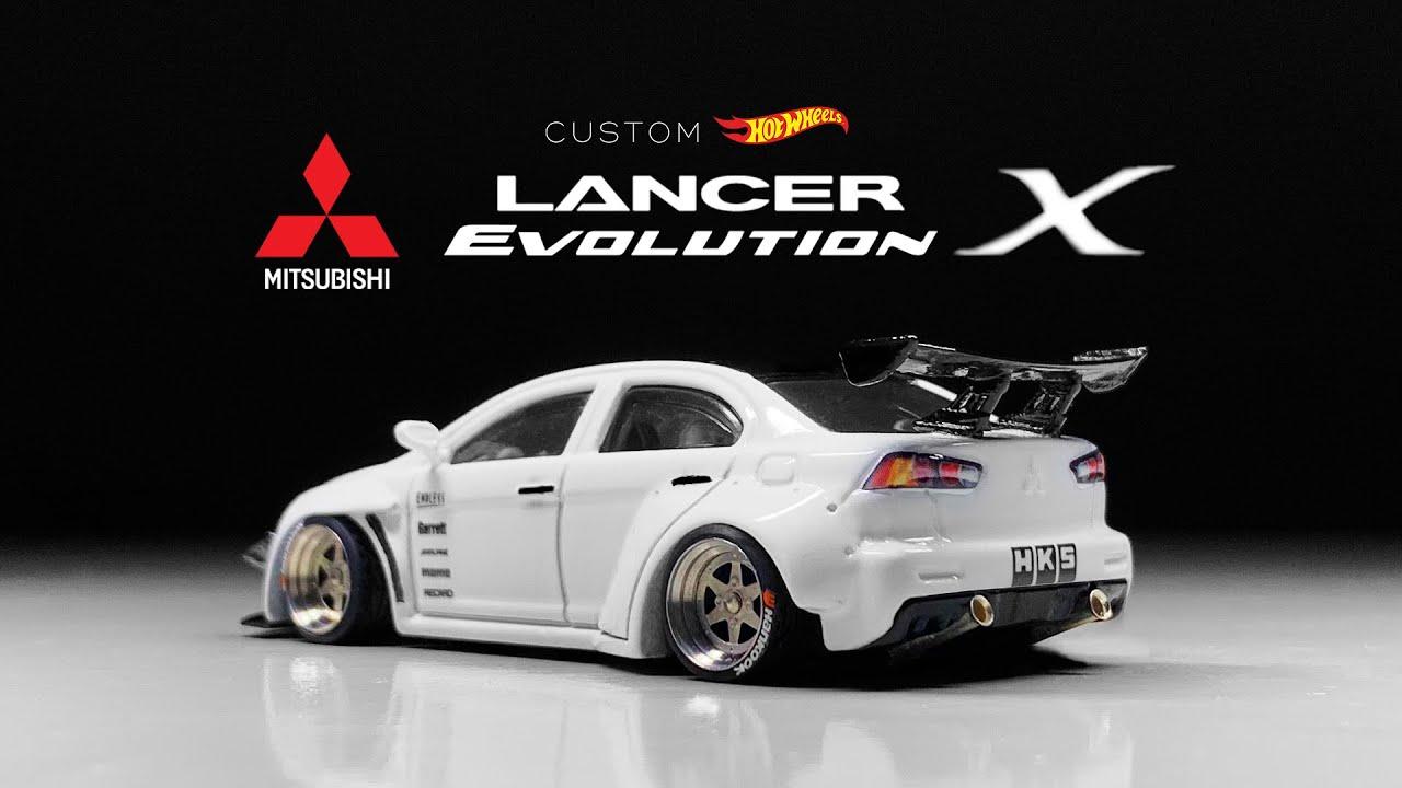 Mitsubishi Lancer Evolution X Custom Hot Wheels