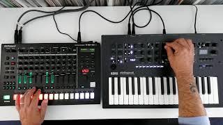 Explore : Melodic Techno w/ TR8S & Minilogue XD
