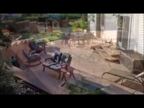 DIY Patio & Retaining Wall Project