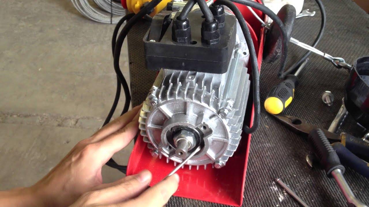 240v 250kg Electric Scaffold Hoist Brake Adjustment
