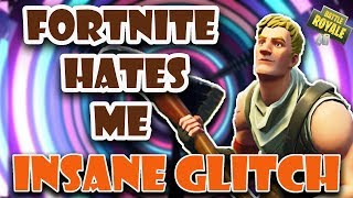 INSANE GLITCH! FORTNITE HATES ME!
