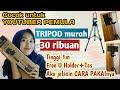 - CARA PAKAI TRIPOD 3110  REVIEW TRIPOD MURAH 30RIBU UNTUK YOUTUBER PEMULA