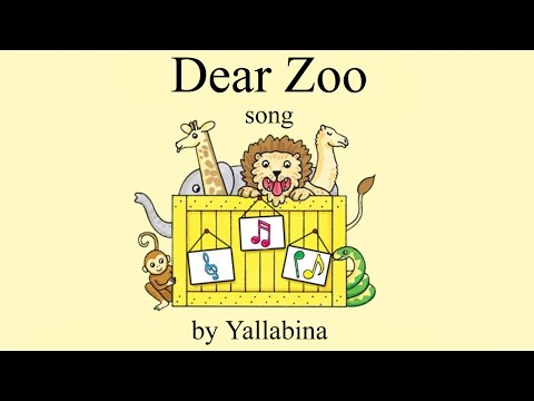 Dear Zoo children's song (based on the book by Rod Campbell) | Kids Nursery Rhymes and Songs