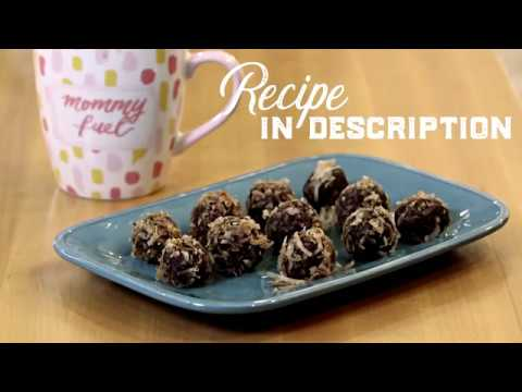 #Vegan and #Glutenfree Raw Cacao Coconut Truffles
