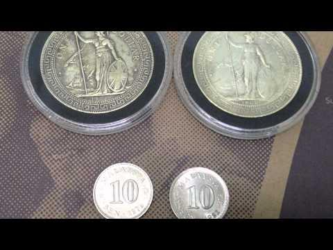 british trade dollars   24g