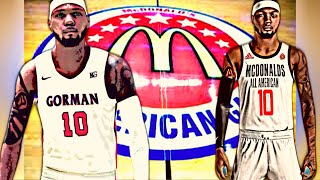 MCDONALDS ALL AMERICAN GAME| PROBLEM CHILD COMMITS TO SCHOOL AT HALFTIME| NBA2K21 HIGH SCHOOL HOOPS