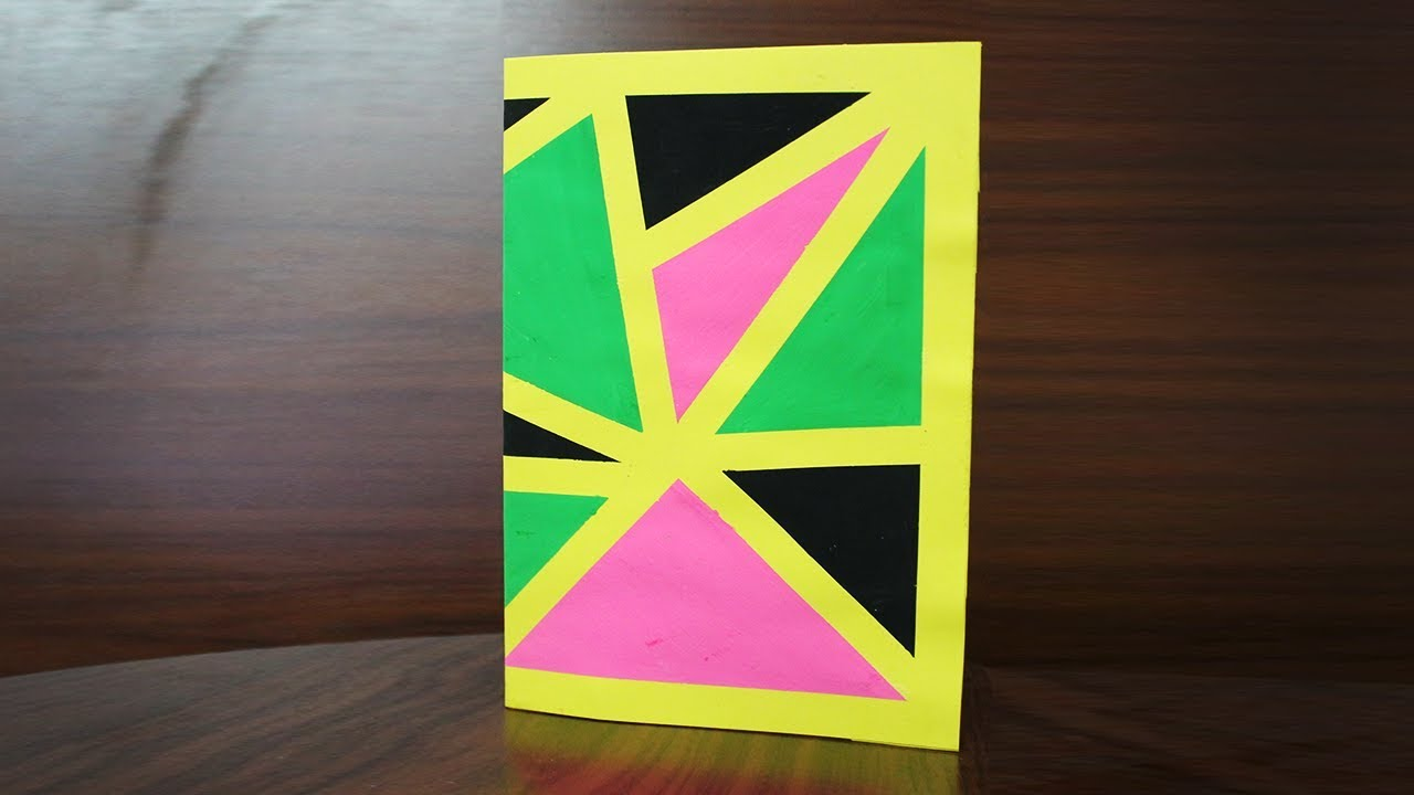 How To Make Birthday Cards With A4 Size Paper Beautiful Cards For