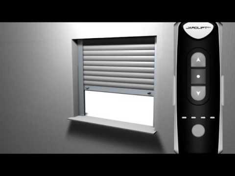 einstellung der endpunkte beim jarolift tdef funk rolladenmotor rohrmotor youtube. Black Bedroom Furniture Sets. Home Design Ideas