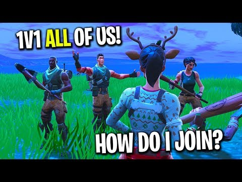 I tried out for a Fortnite Clan that a few of my fans made