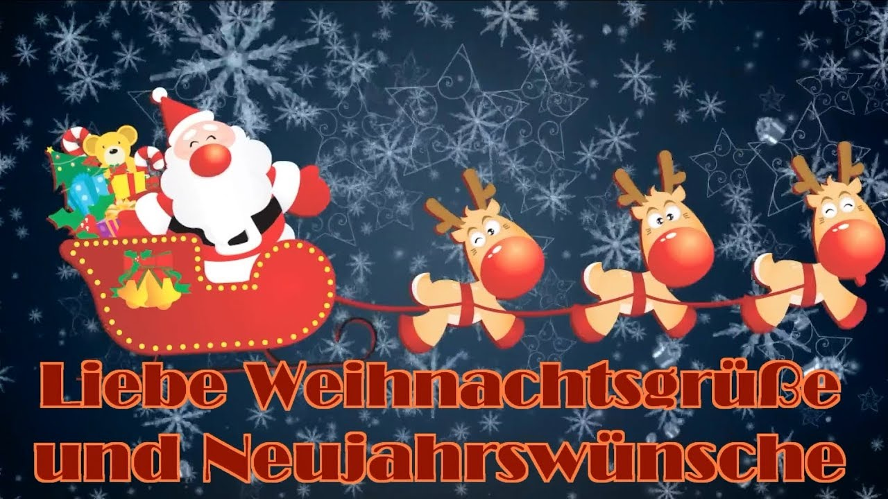 weihnachtsgr e und neujahrsw nsche youtube. Black Bedroom Furniture Sets. Home Design Ideas