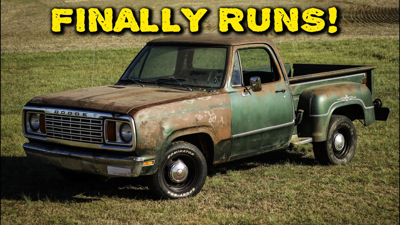 ABANDONED Truck Runs After 27 Years