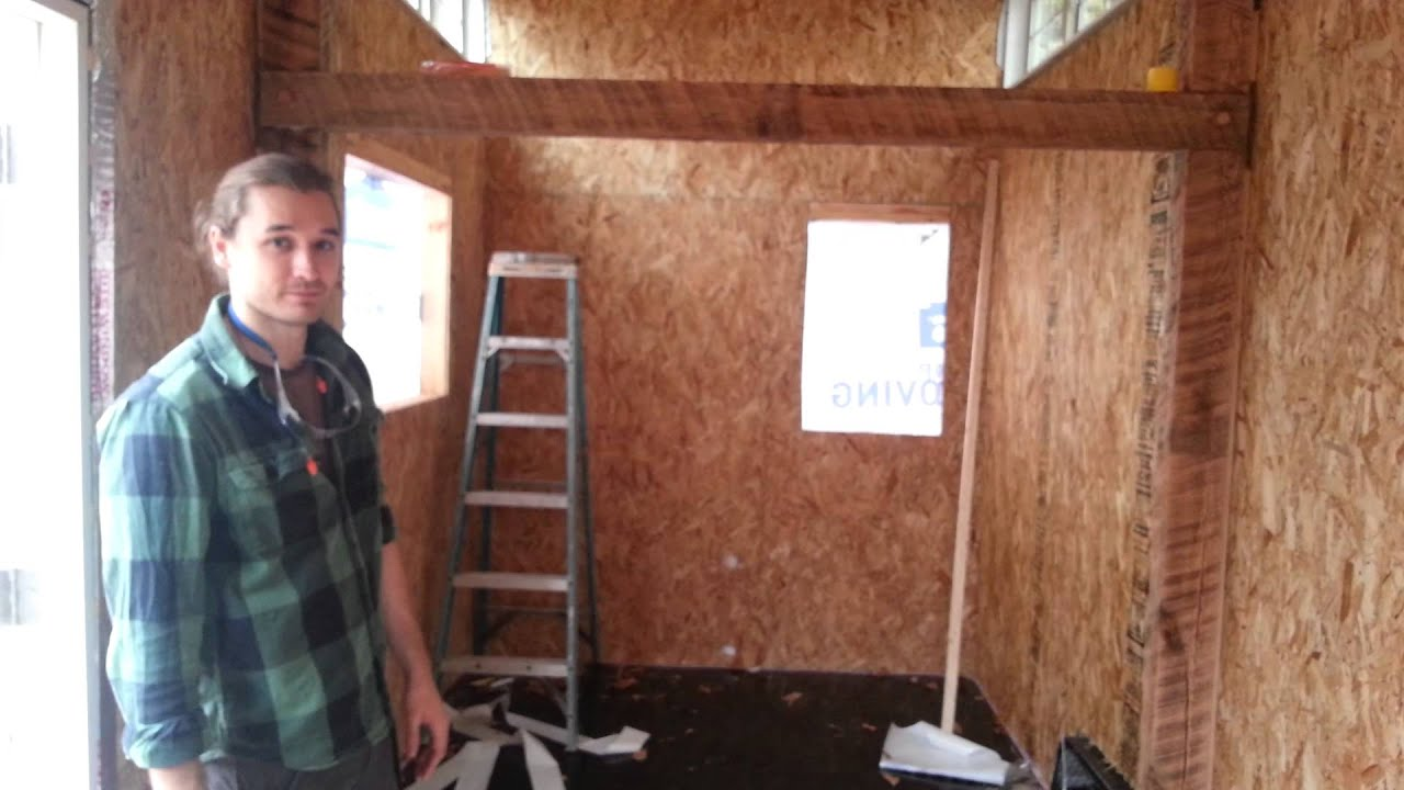 Tiny House Update Insulation And Electrical Wiring Youtube