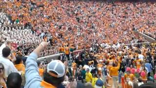 Tennessee Celebrates Win - Butch Conducts Rocky Top