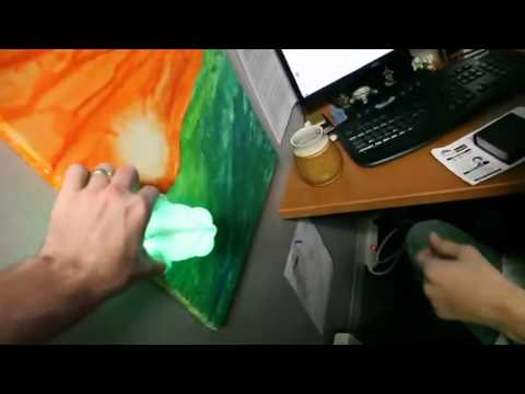 Huey the Color Copying Chameleon Lamp - YouTube