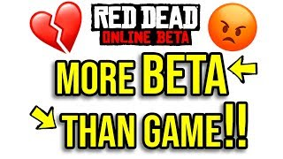 More BETA than GAME? RDR2 Online's New Update Review - The State of RDR2 Online after the Update.
