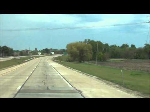 Illinois - Interstate 39 North - Mile Marker 0-10 (5/2/12)