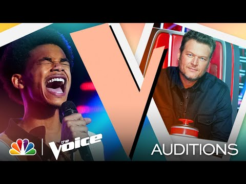 "Cam Anthony's Smooth Performance of Sam Smith's ""Lay Me Down"" - The Voice Blind Auditions 2021"