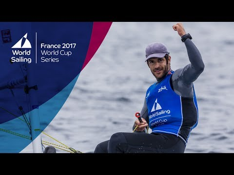 Full Laser Medal Race from the World Cup Series in Hyères 2017