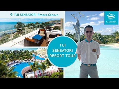 TUI SENSATORI Riviera Cancun   Resort Tour
