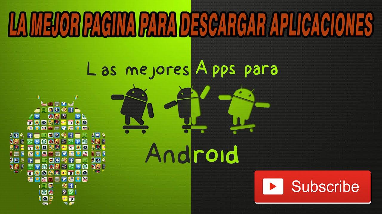 Pagina para descargar apps de paga android
