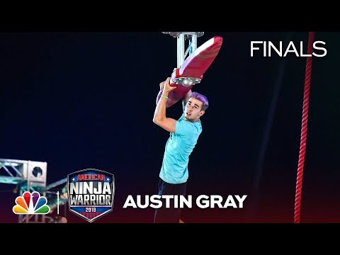 Austin Gray at the Vegas Finals: Stage 1 - American Ninja Warrior 2018
