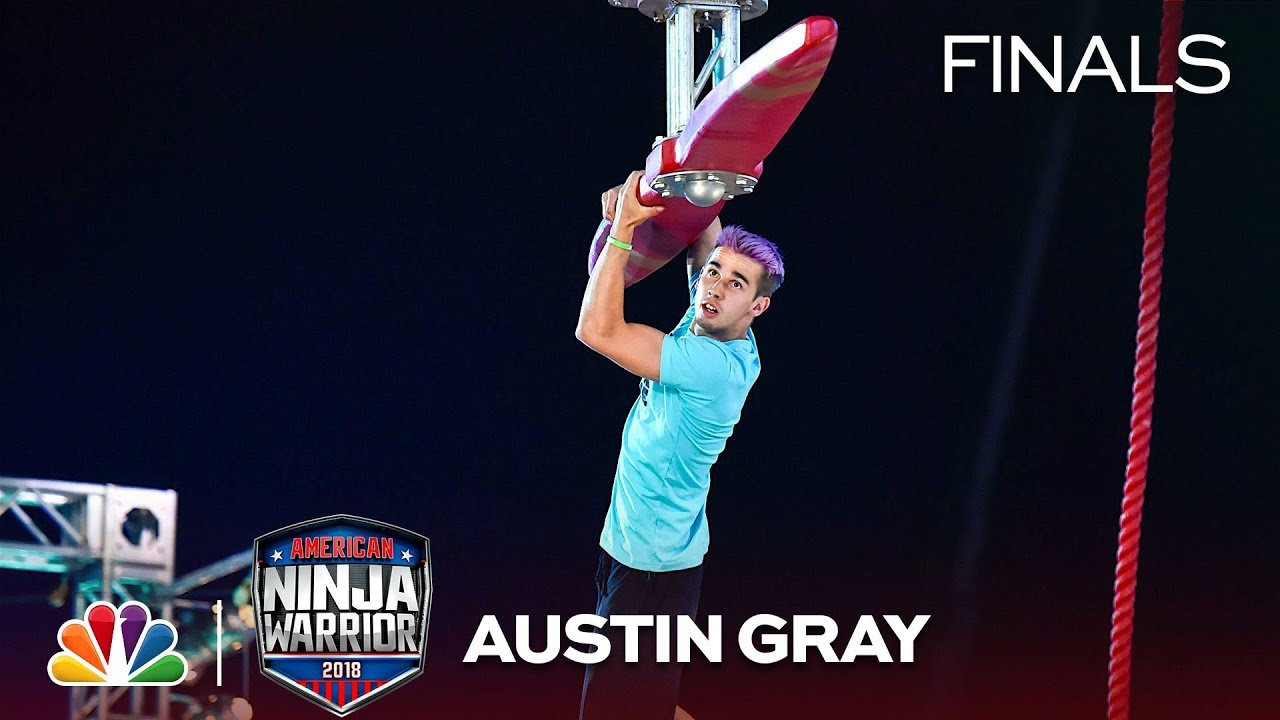Austin Gray at the Vegas Finals: Stage 1 - American Ninja Warrior 2018