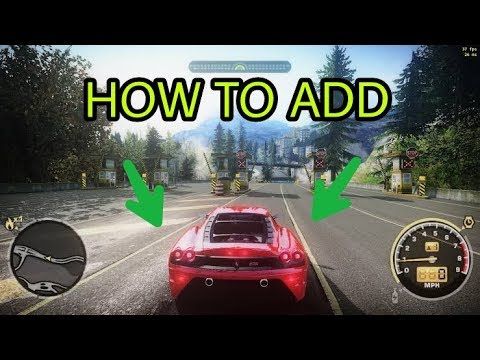 HOW TO ADD NEW CARS ON NFS MOST WANTED 2005