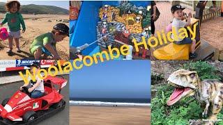 Woolacombe, Devon Family Holiday VLOG | Woolacombe Bay | Twitchen House | Golden Coast | Woolacombe