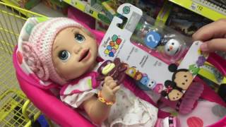 Baby Alive try's out HONESTLY CUTE carseat outing Bonus BLOOPERS