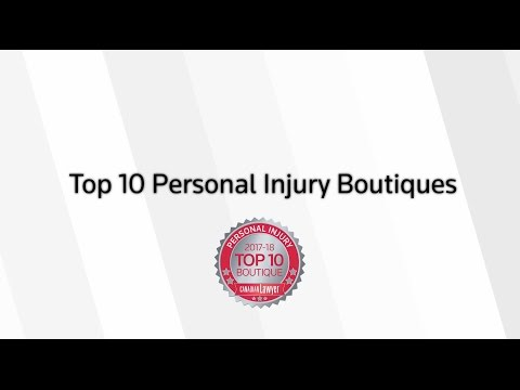 Canadian Lawyer's Top 10 Personal Injury Boutiques