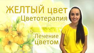 ЖЕЛТЫЙ ЦВЕТ влияние Цветотерапия Лечение цветом Практика медитации Работа с желтой энергией