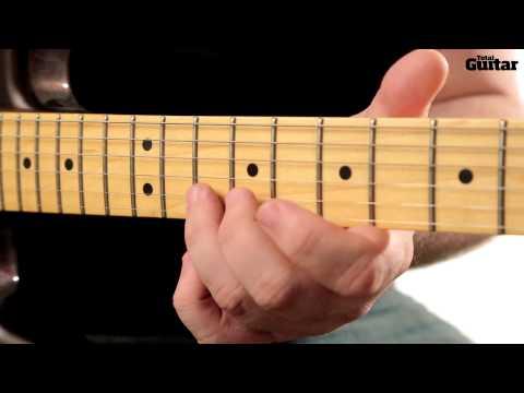 Essentials guitar lesson: Quarter-tone bends (TG250)
