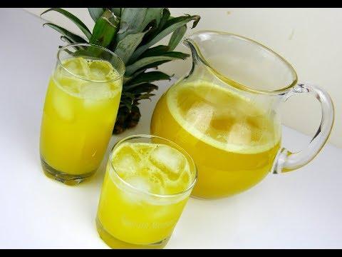 Traditional Caribbean Pineapple Juice | CaribbeanPot.com