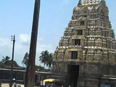 belur temple gopuram, pillar without support
