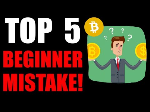 Top 5 Beginner Mistakes New Crypto Investors Make [MUST WATCH!!]