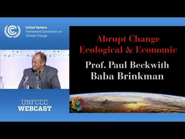 Climate Matters - Abrupt Change Ecological Economic