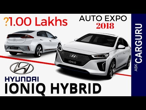 Hyundai IONIQ, Hybrid, CARGURU Explains हिन्दी में, Price, Engine, Interior, Accord & Toyota Camry