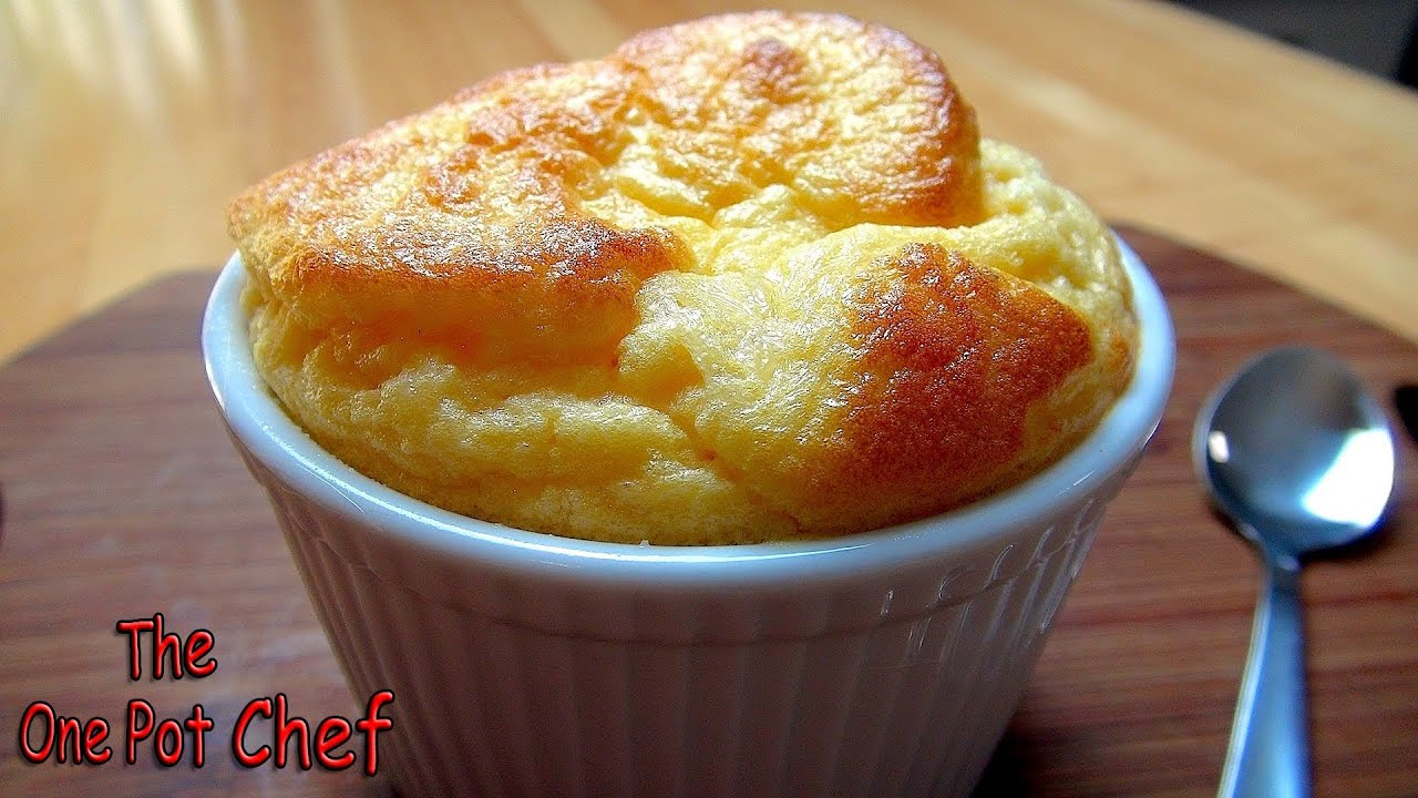 Easy Cheese Souffle - RECIPE