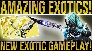 Destiny 2 Forsaken. NEW EXOTIC GAMEPLAY! Wall Hack Bow, Trace Rifle, Ace of Spades, DualFire Rockets
