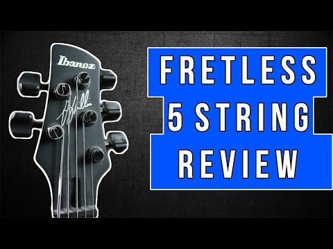 Ibanez GWB35 Fretless Bass Review - Should You Buy One?