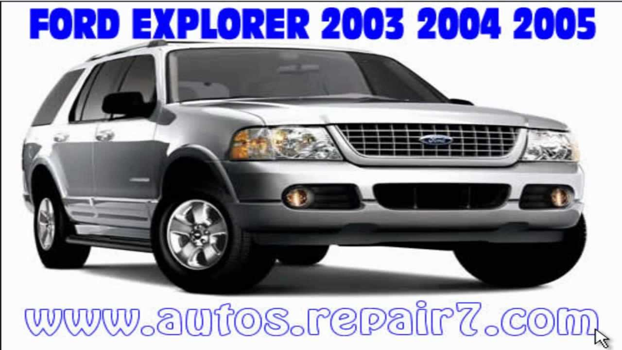 Ford explorer 2003 2004 2005 manual de reparacion mecanica youtube ford explorer 2003 2004 2005 manual de reparacion mecanica sciox Images
