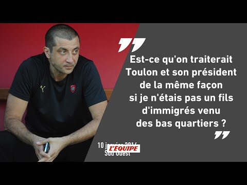 Rugby - Top 14 : Quand Mourad Boudjellal se lâche