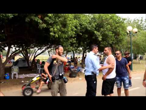 Israeli lynch mob forms in a BBQ event (269Life)