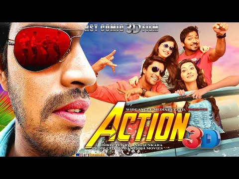 Action 3D (2018) | New Released Full Hindi Dubbed Movie | South Indian Dubbed Movies 2018 Full Movie thumbnail