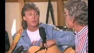CARL PERKINS AND PAUL McCARTNEY RAREZA