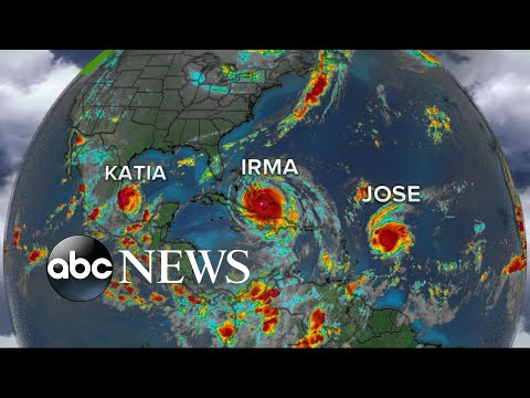 Hurricane Irma moves toward Bahamas, Florida
