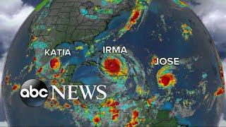 Hurricane Irma moves toward Bahamas, Florida
