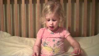 Princess Kate reads Goldilocks at only 3 years old!