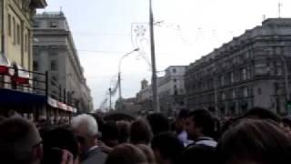 15 06 2011 Минск Выкрики ШОС хмм попытка провокации