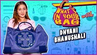 Dhvani Bhanushali Handbag Secret Revealed | What's In Your Bag | TellyMasala